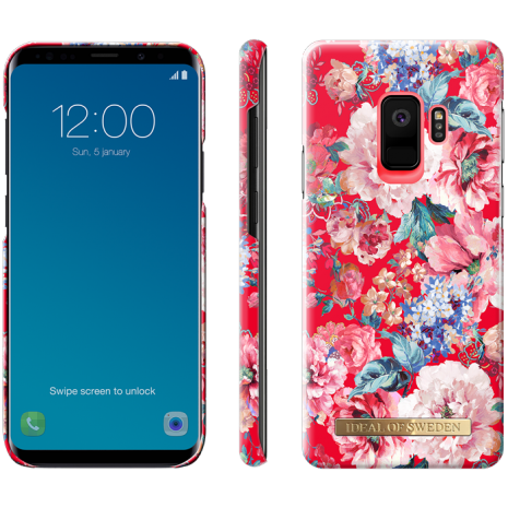 Samsung Galaxy S9 Cover iDeal Fashion Case Statement Florals-2