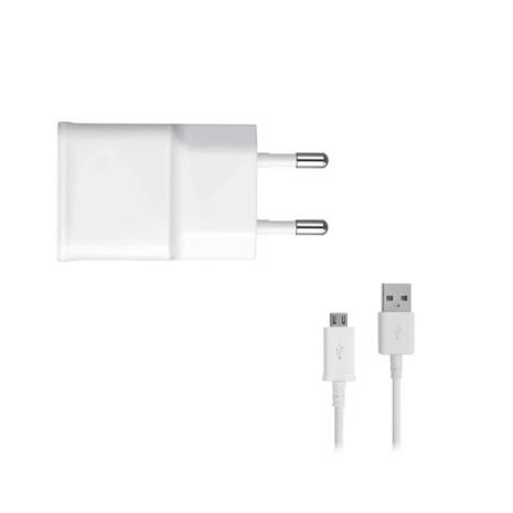 Samsung oplader med USB-C ladekabel EP-TA50EWE, Hvid-2