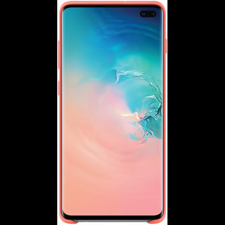 Samsung Silikone Cover Til Samsung Galaxy S10+ (Plus), Pink / lyserød-2