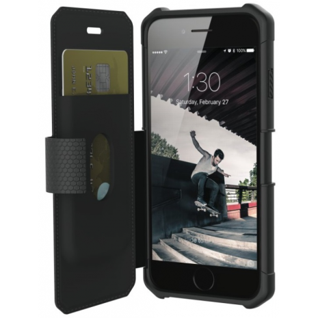 UAG Apple iPhone 6/6S/7/8 Metropolis Wallet Cover Sort-1