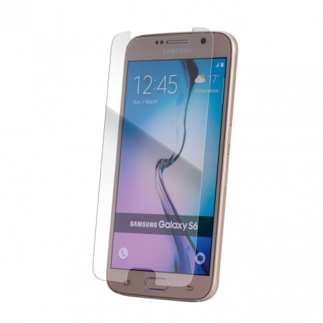 XQISIT Tough Screen Glass for Galaxy S6 clear-1