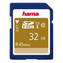 Hama SDHC Kort 32GB til Kamera m.m. (ikke til telefoner)