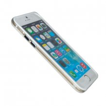 TPU Bumper iPhone 5/5S/SE Hvid Transparent