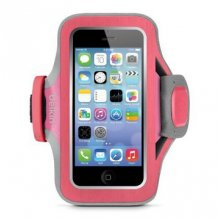 iPhone 5/5S/5C/SE armbånd, Belkin Slim-Fit Plus, Fuschia
