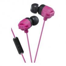 JVC HA-FR202-R-E XTREME XPLOSIVES stereo headset med mikrofon pink