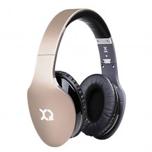 Xqisit LZ380 Trådløse Bluetooth Hovedtelefoner med mikrofon Guld