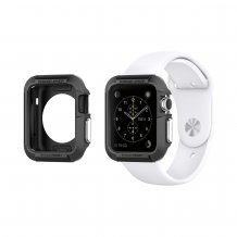 Spigen Rugged Armor til Apple Watch 38mm sort