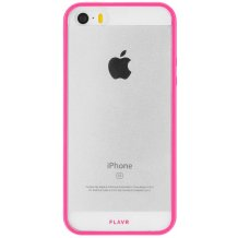 FLAVR Odet for iPhone 5/5S/SE clear/pink