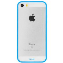 FLAVR Odet for iPhone 5/5S/SE clear/blue