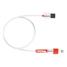 2in1 Chargen Sync Micro USB & Lightning Cable-1