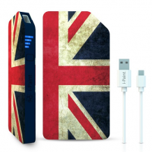 3000 mAh Powerbank / eksternt batteri 1A fra i-Paint, UK-1