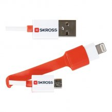 2in1 Charge'n Sync Micro USB & Lightning Cable