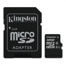 32GB microSDHC 80R CL10 UHS-I Card Incl. Adapter-1