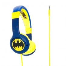 BATMAN Hovedtelefon On-Ear Junior Blå Gul