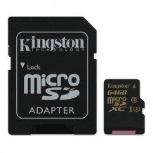 64GB microSDXC Class U3 UHS-I 90R/45W + SD Adapter-1