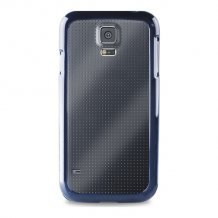 Puro Case Samsung Galaxy S5 Clear Blue