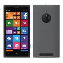 Puro Silikone Cover Nokia Lumia 830 Sort