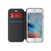 Griffin Survivor Wallet cover til iPhone 7/6S/6 sort 2 kortlommer