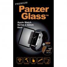 PanzerGlass til Apple Watch Serie 2 42mm sort ramme