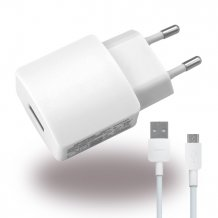 Huawei- HW-050200E3W - Charger / Adapter + Cable - USB - 2000mAh - White