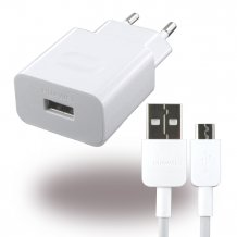 Huawei - HW-059200EHQ - Quick Charger 2A + Cable Micro USB - White