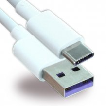 LG Electronics - Charger Cable / Data Cable - USB auf USB Typ C - 1m - White