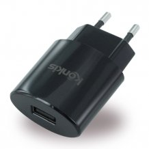 Konkis Vento - USB Charger / Power Adapter - 1000mA - Black