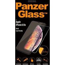 PanzerGlass Premium til Apple iPhone X/XS - Full-Fit Casefriendly Sort
