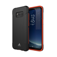 adidas SP Performance Solo Case SS17 for Galaxy S8 black/red-1