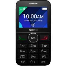 Alcatel 2008 Sort - Ældrevenlig mobiltelefon-1