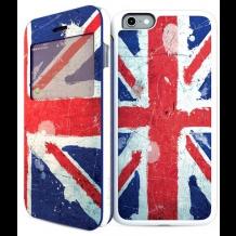 Apple iPhone 6 / 6S 2-i1 Cover med engelsk flag i-Paint UK-1