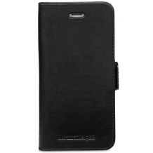 Apple iPhone 6/6S/7/8 Læder Cover 2-i-1 Dbramante Lynge Sort-1