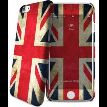 Apple iPhone 6 / 6S cover med engelsk flag i-Paint Skin-1