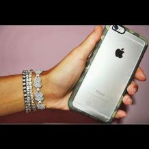 Apple iPhone 6 / 6S med gennemsigtig bagside i-Paint Ghost Camo-1