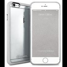 Apple iPhone 6 / 6S med gennemsigtig bagside i-Paint Ghost Glitter-1