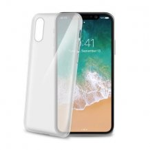 Apple iPhone X/XS Celly Gelskin TPU Cover Gennemsigtig-1