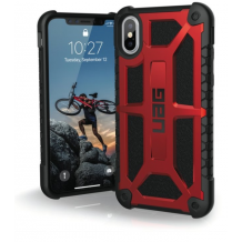 Apple iPhone X/XS Cover UAG Monarch Rød, Sort-1