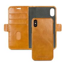 Apple iPhone X/XS Læder Cover 2-i-1 Dbramante Lynge Brun-1