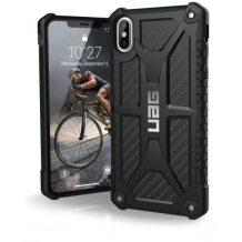 Apple iPhone XR Cover UAG Monarch Carbon-1