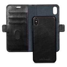 Apple iPhone XR Læder Cover 2-i-1 Dbramante Lynge Sort-1