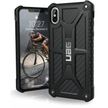 Apple iPhone XS Max Cover UAG Monarch Carbon-1