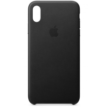 APPLE LEATHER CASE (IPHONE XS MAX BLACK) MRWT2ZM/A-1