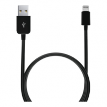 Apple Lightning-kabel, 2,4 A, sort, 0,20 m-1