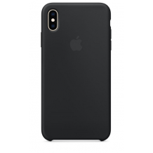 APPLE SILICONE CASE (IPHONE XS MAX BLACK)-1