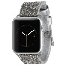 Apple Watch 38 mm Rem, Case-mate Brilliance champagne