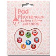 Home knap Animal Friends stickers til iPhone, iPad, iPod 8 stk