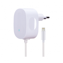 AVO+  travel charger 1A  Lightning - EU white-1