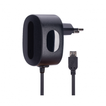 AVO+  travel charger 1A  MicroUSB - EU black-1