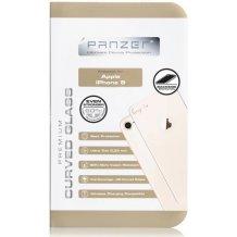 Bagside Panserglas til Apple iPhone 8, Panzer Tempered Glass, Guld-1