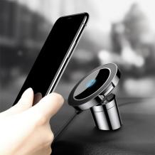 Baseus Big Ears Magnetisk Bilholder Med Trådløs Opladning-1